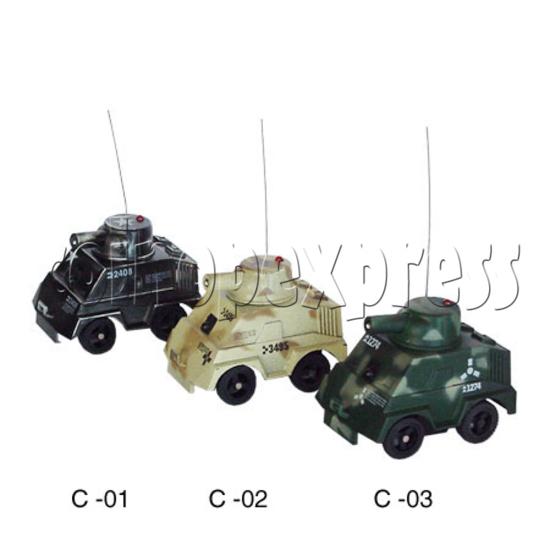 Mini Remote Control Combat Tanks 7682