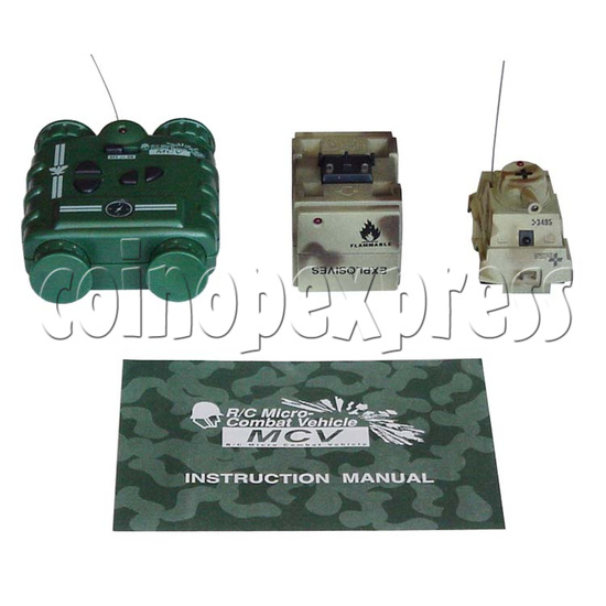 Mini Remote Control Combat Tanks 7683