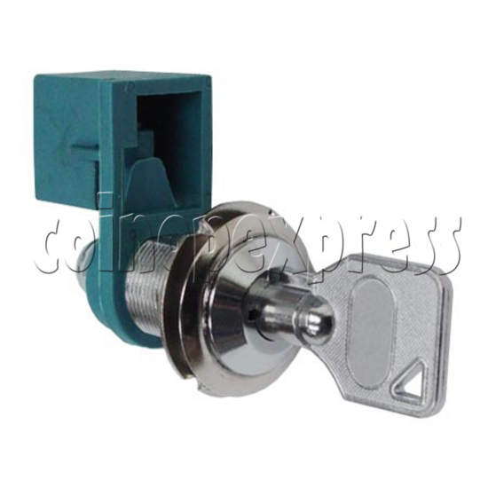 Circle Type Microswitch Lock With Key 7700