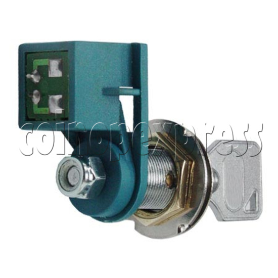 Circle Type Microswitch Lock With Key 7702