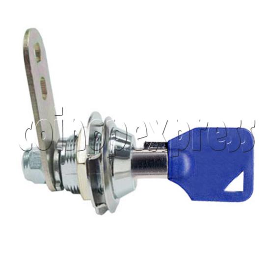Circle Type Metal Door Lock with Key (18mm) 7706