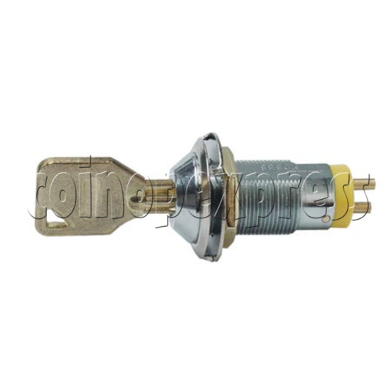 Solid Switch Lock With Key 7711