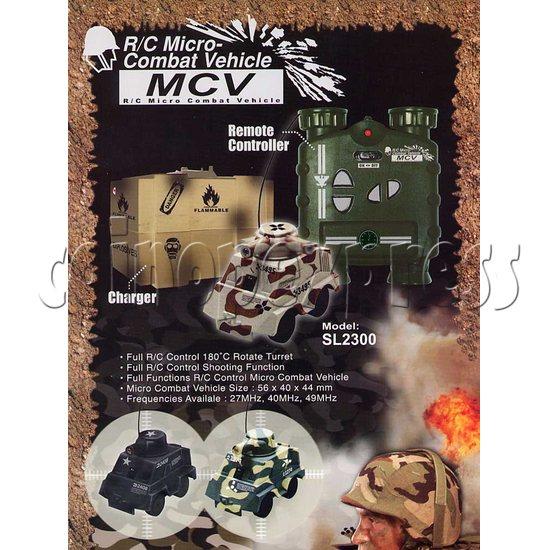 Mini Remote Control Combat Tanks 7844