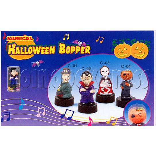 Musical Halloween Bopper 7922