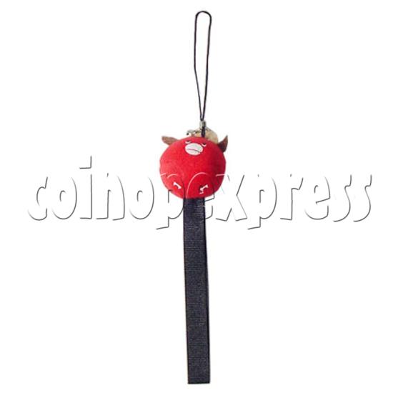 Q-Animal Mobile Strap (Short) 8330
