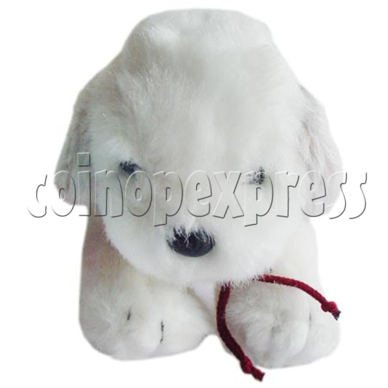 "10"" White Dog 8392"