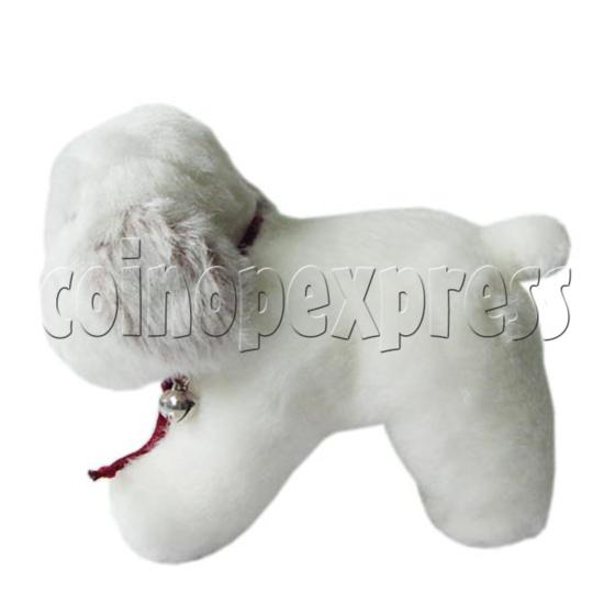 "10"" White Dog 8393"