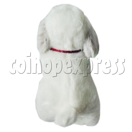 "10"" White Dog 8394"