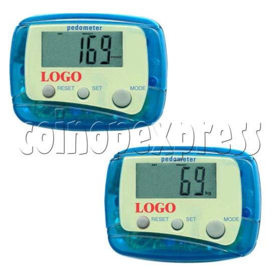 3 Buttons Pedometer 8498