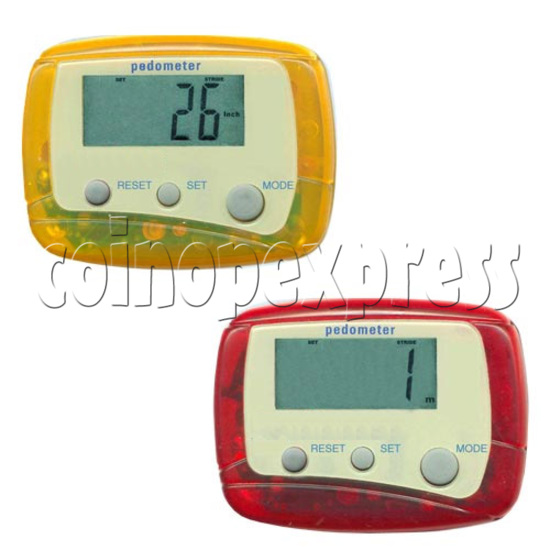 3 Buttons Pedometer 8499