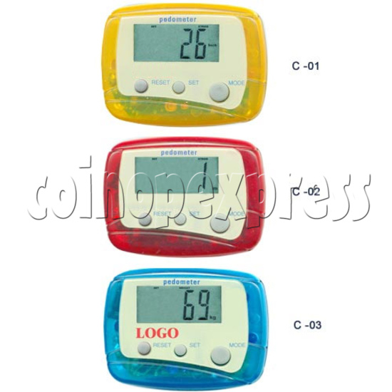 3 Buttons Pedometer 8500