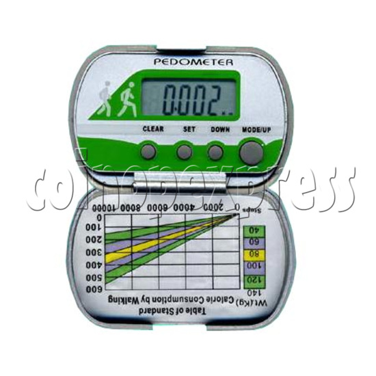 4 Buttons Pedometer 8502