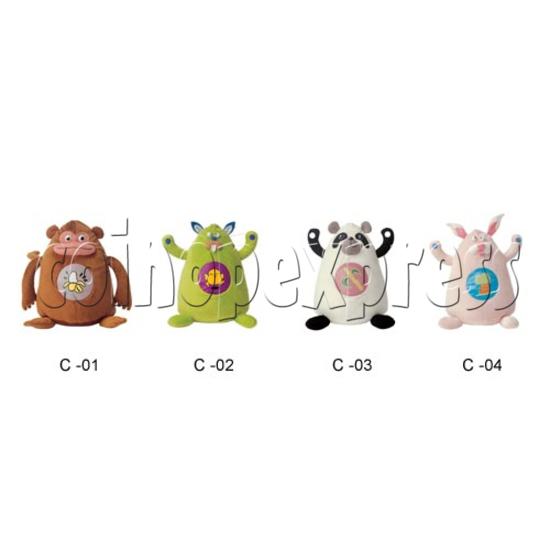"""12"""" BaoBao Monster 8631"""