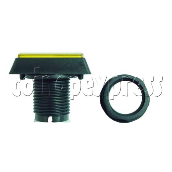 Rectangular Illuminated Push Button - Bevelled Edge 8804