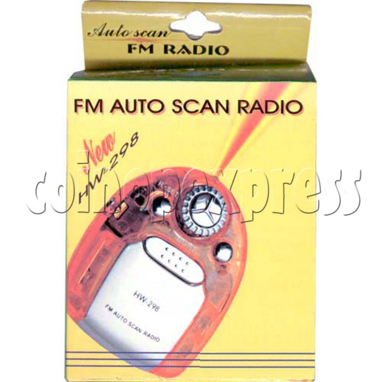 FM Auto Scan Radio With Torch 8832