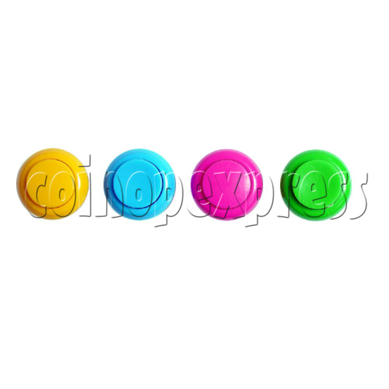 33mm Round Concave Momentary Contact Push Button 8849