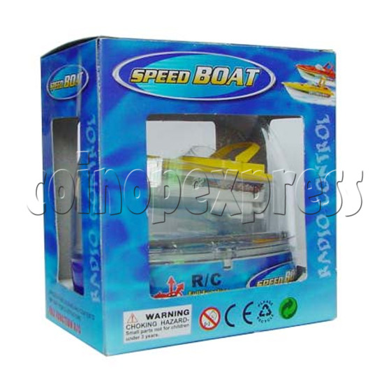Mini Remote Control Boat 8962