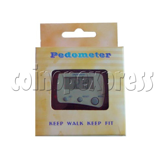 3 Buttons Pedometer 9306