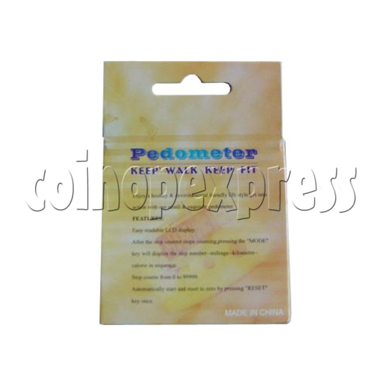 3 Buttons Pedometer 9307