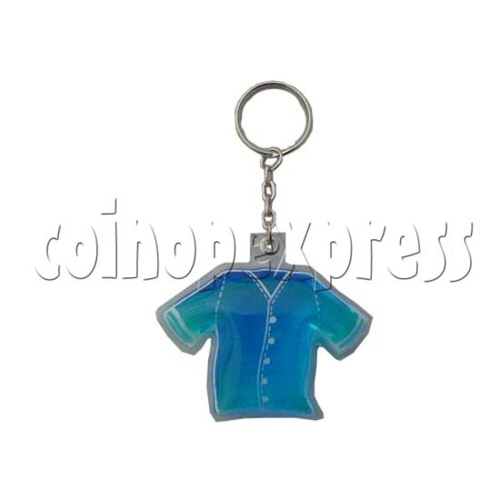 Water Glitter Key Rings 9694