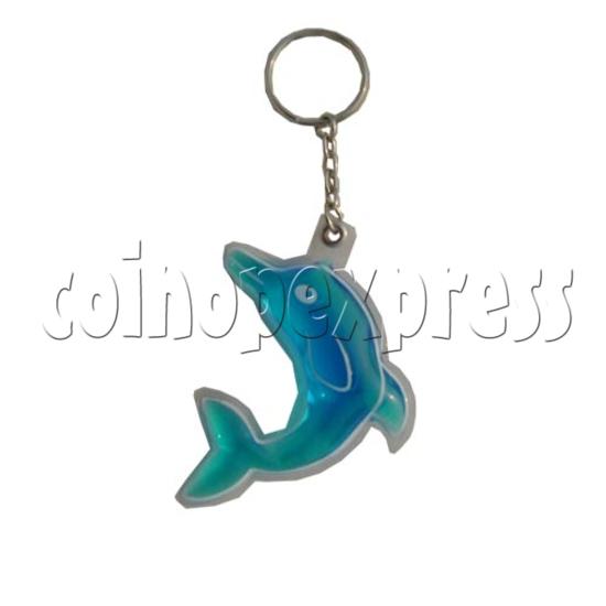 Water Glitter Key Rings 9695