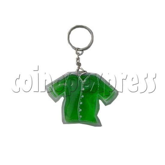 Water Glitter Key Rings 9697