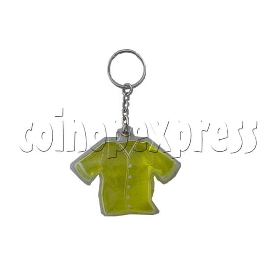 Water Glitter Key Rings 9711