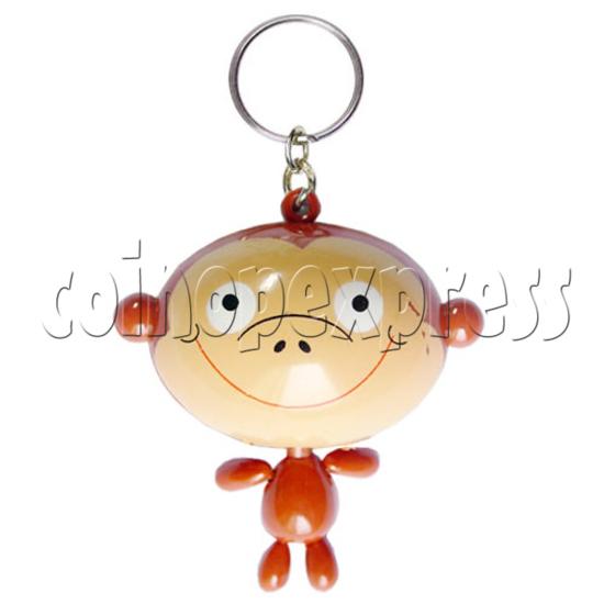 Big Head Cartoon Key Rings 9712