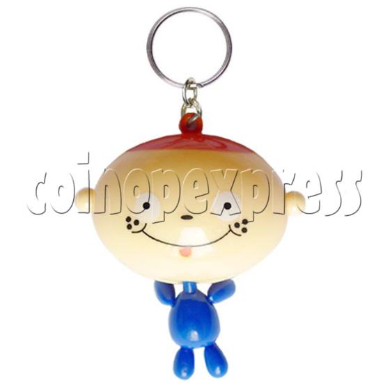Big Head Cartoon Key Rings 9715