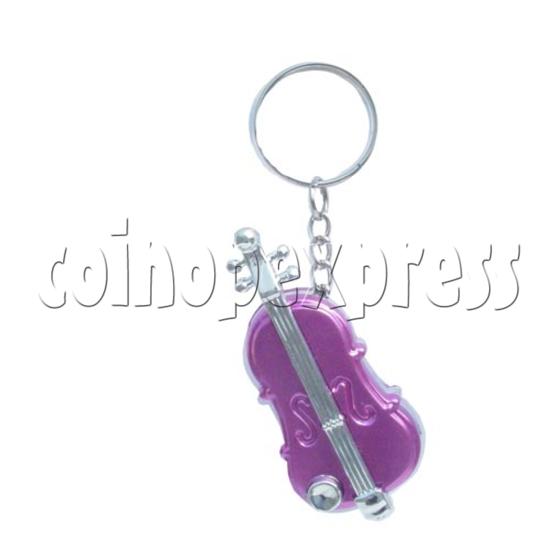 Guitar Light-up Key Rings 9722