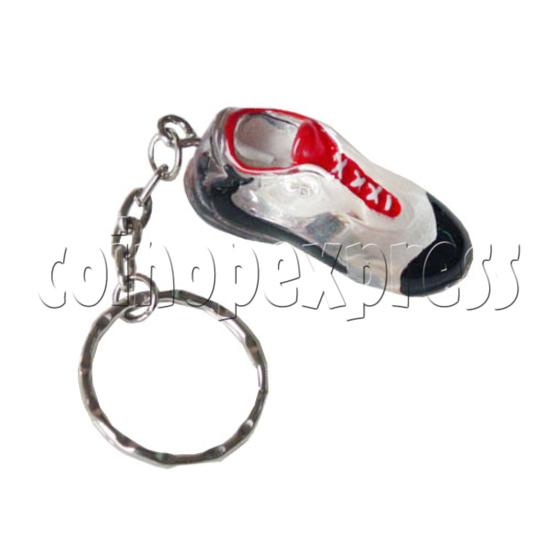 Crystal Shoe Key Rings 9747