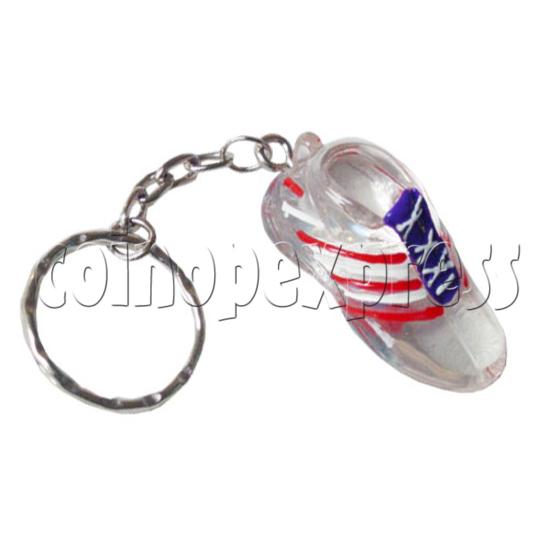 Crystal Shoe Key Rings 9748