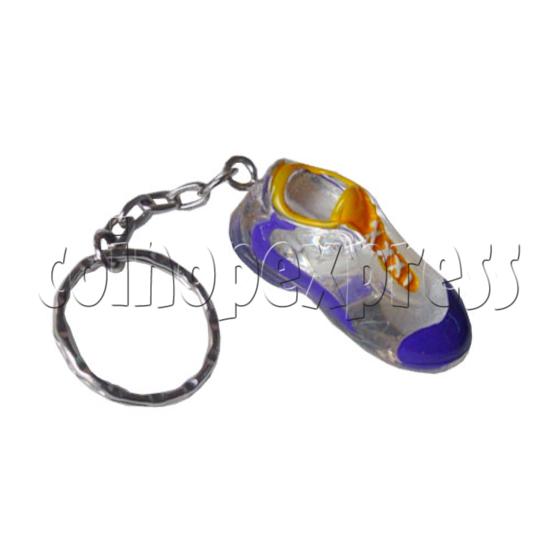 Crystal Shoe Key Rings 9749