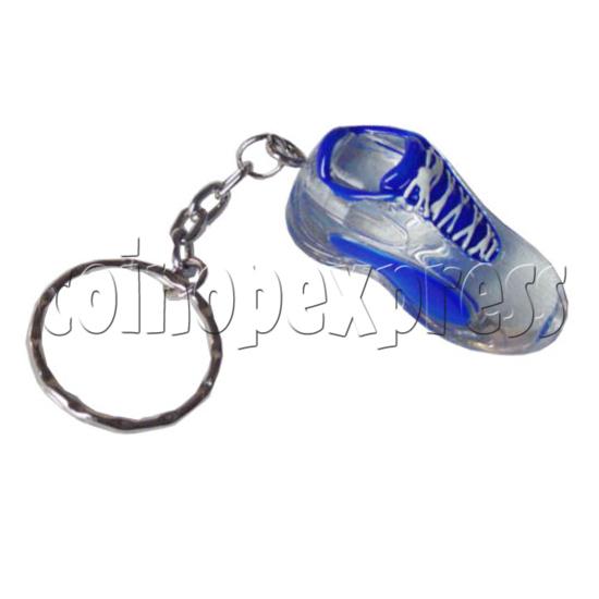 Crystal Shoe Key Rings 9750