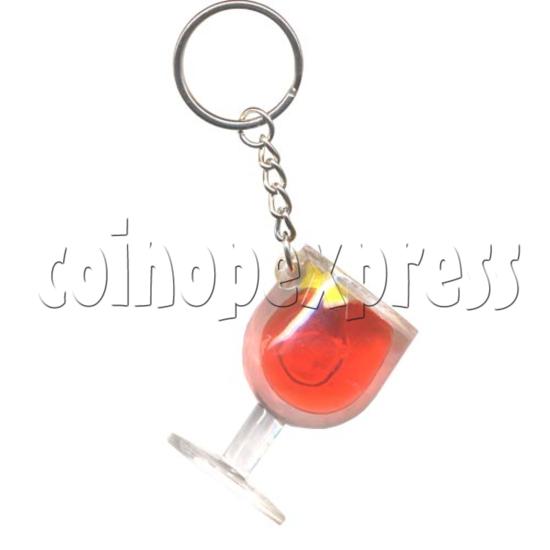 Colorful Liquid Key Rings 9763