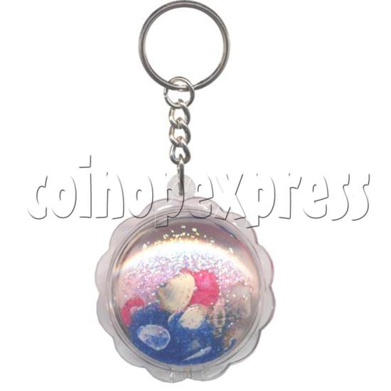 Colorful Liquid Key Rings 9764