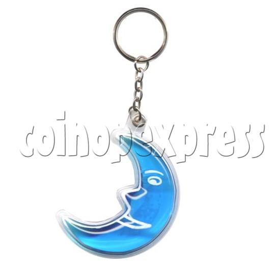 Water Glitter Key Rings 9768