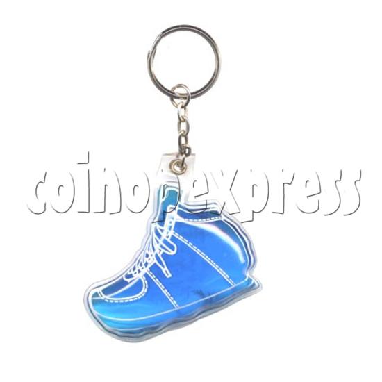 Water Glitter Key Rings 9769