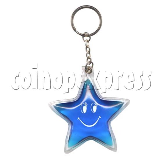 Water Glitter Key Rings 9770