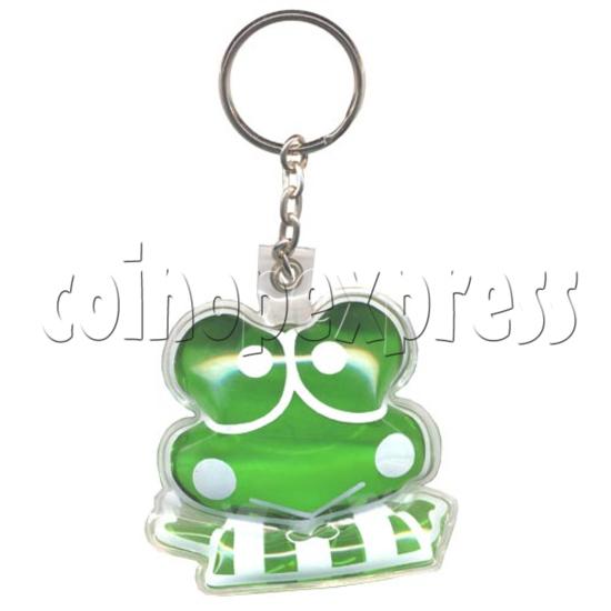 Water Glitter Key Rings 9771