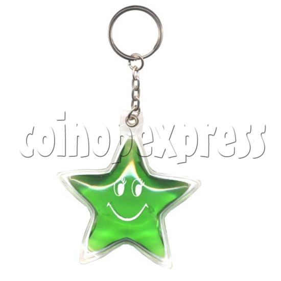 Water Glitter Key Rings 9772