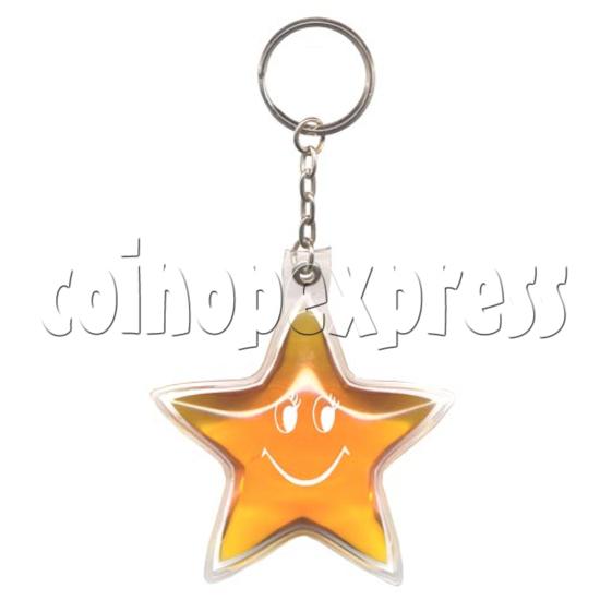 Water Glitter Key Rings 9774