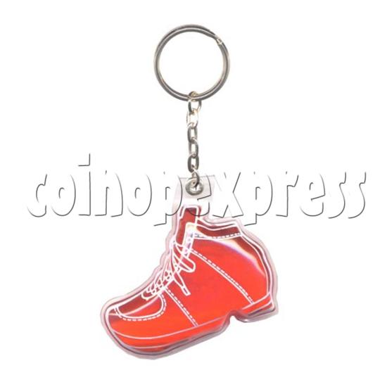 Water Glitter Key Rings 9779
