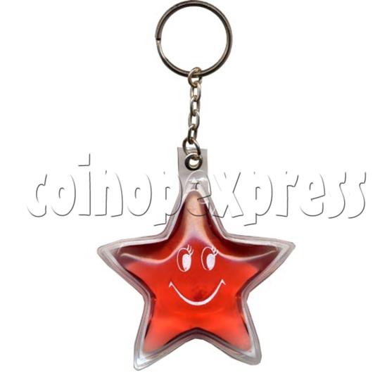 Water Glitter Key Rings 9780