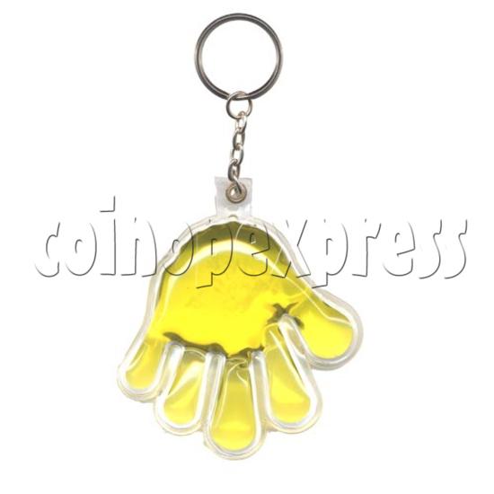 Water Glitter Key Rings 9783