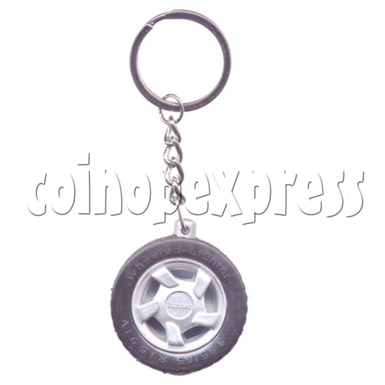 Wheel Light-up Key Rings 9792