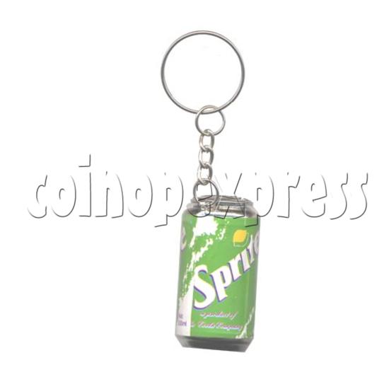 Soft-drink Light-up Key Rings 9795