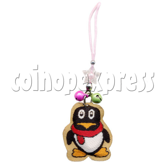 Embroidery Mobile Strap with Bells 9829