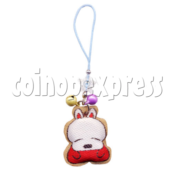 Embroidery Mobile Strap with Bells 9830