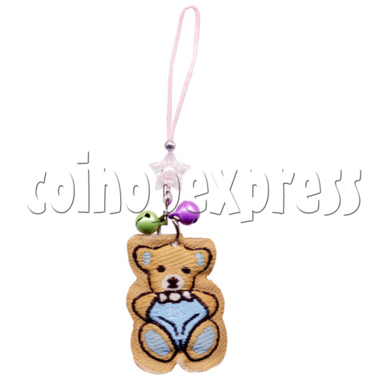 Embroidery Mobile Strap with Bells 9831